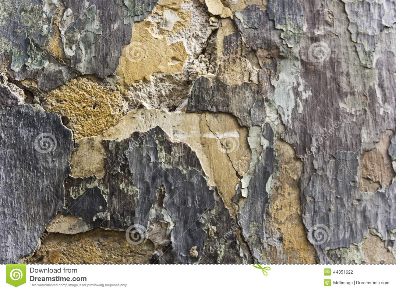 Pared agrietada