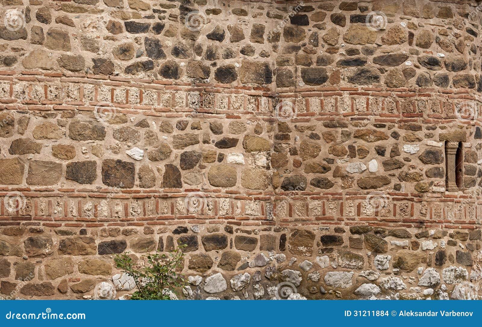 Pared antigua de piedra de la iglesia foto de archivo imagen 31211884 - Fotos de paredes de piedra ...