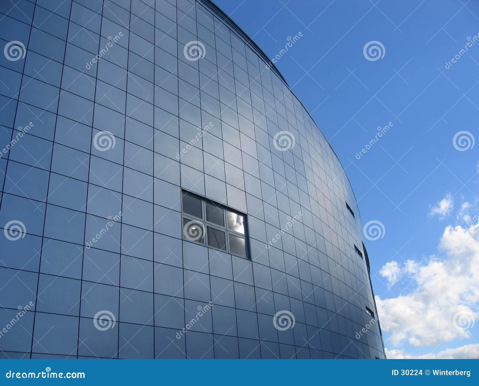 Download Pared azul foto de archivo. Imagen de cielo, azul, cielos - 30224