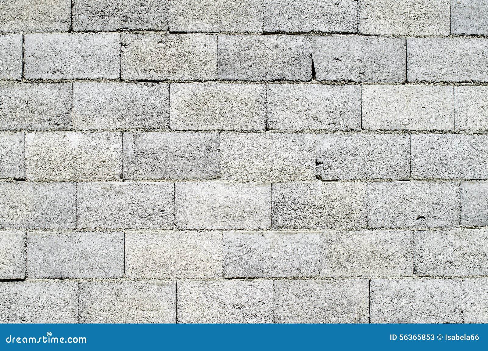 Pared de bloques de cemento grises foto de archivo - Paredes de cemento ...