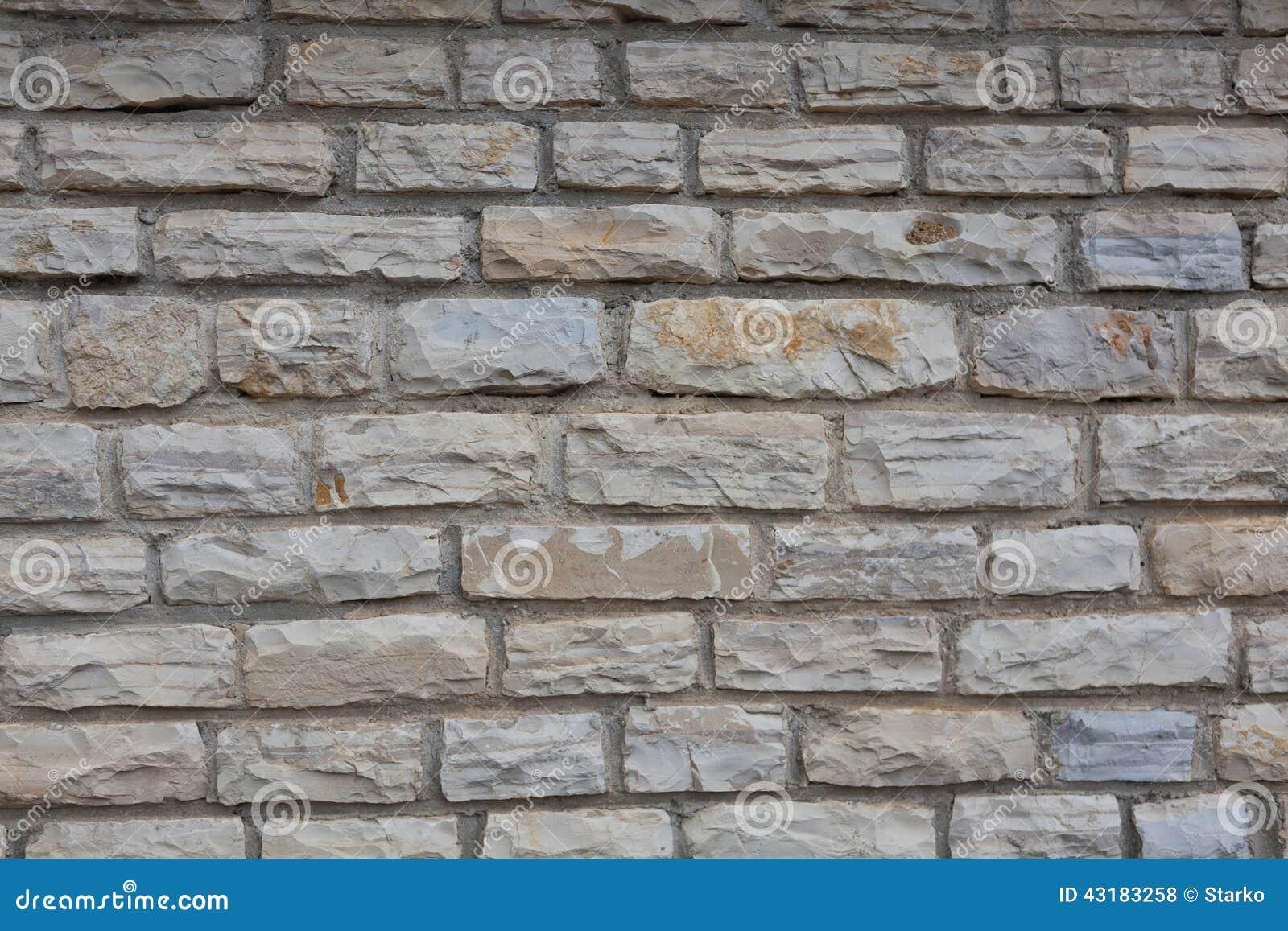 Pared de la piedra natural cortada foto de archivo imagen 43183258 - Pared de piedra natural ...