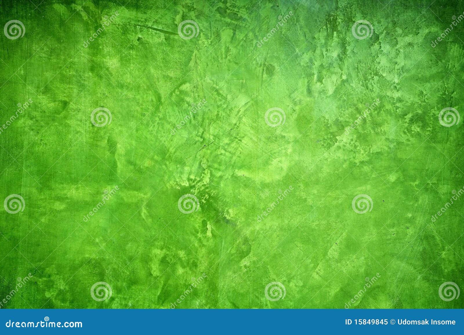Pared de la pintura del color verde foto de archivo libre for Pintura pared verde