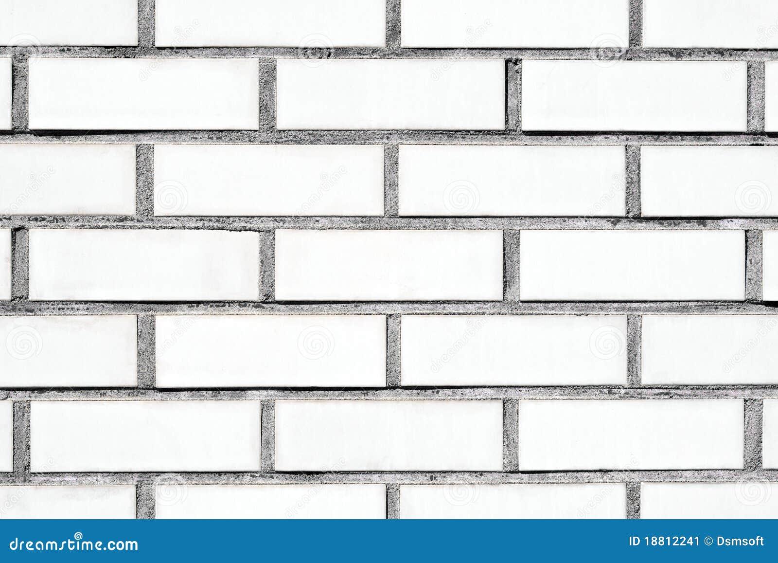 Pared de ladrillo blanca imagen de archivo imagen 18812241 - Ladrillos para pared ...