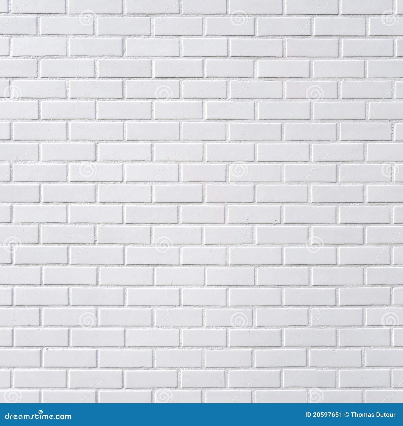 Pared De Ladrillo Blanca Imagen De Archivo Imagen De Fila 20597651 - Pared-ladrillo-blanco