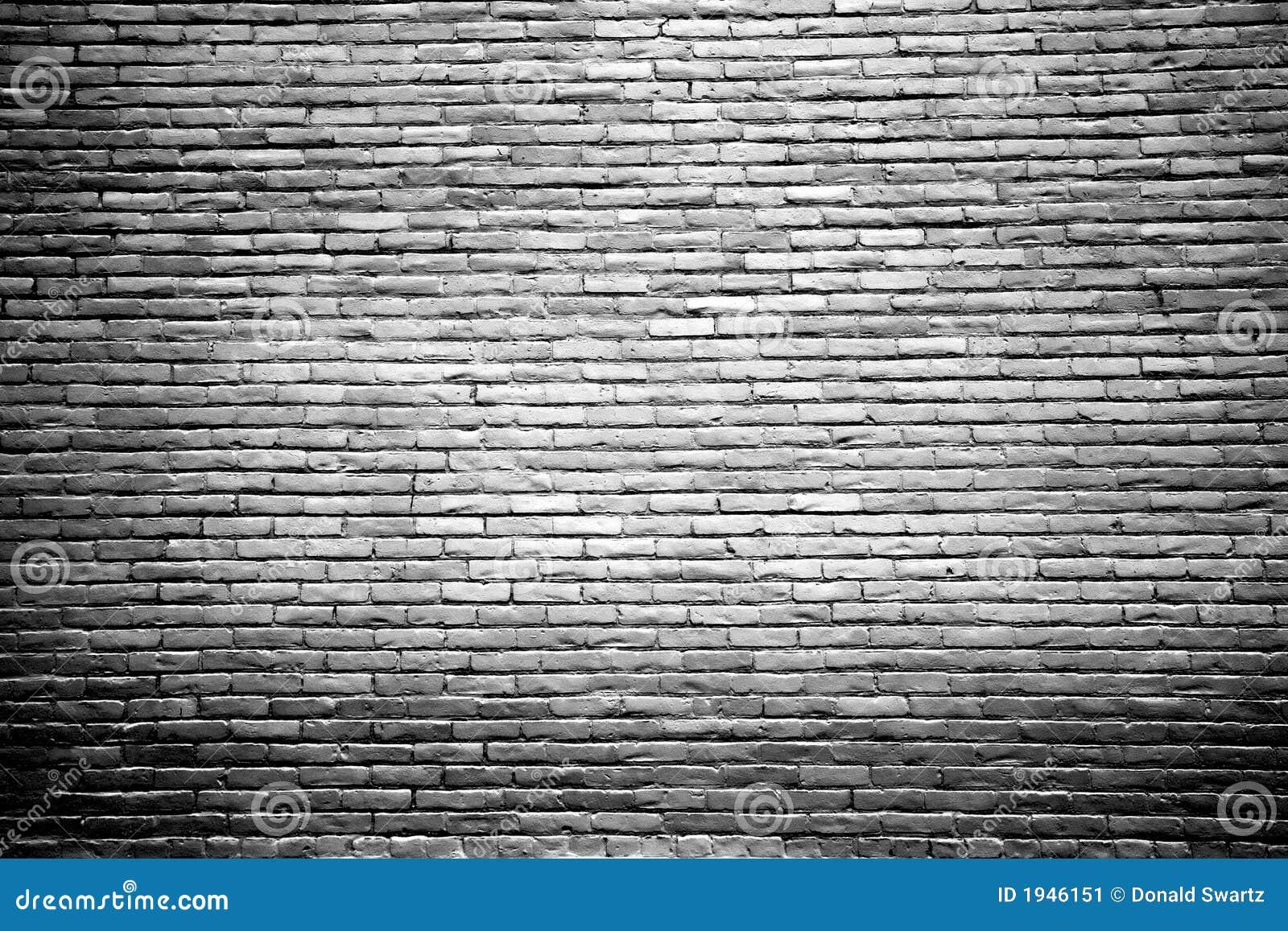 Pared de ladrillo blanco y negro con el centro destacado imagen de archivo imagen de - Pared de ladrillo blanco ...