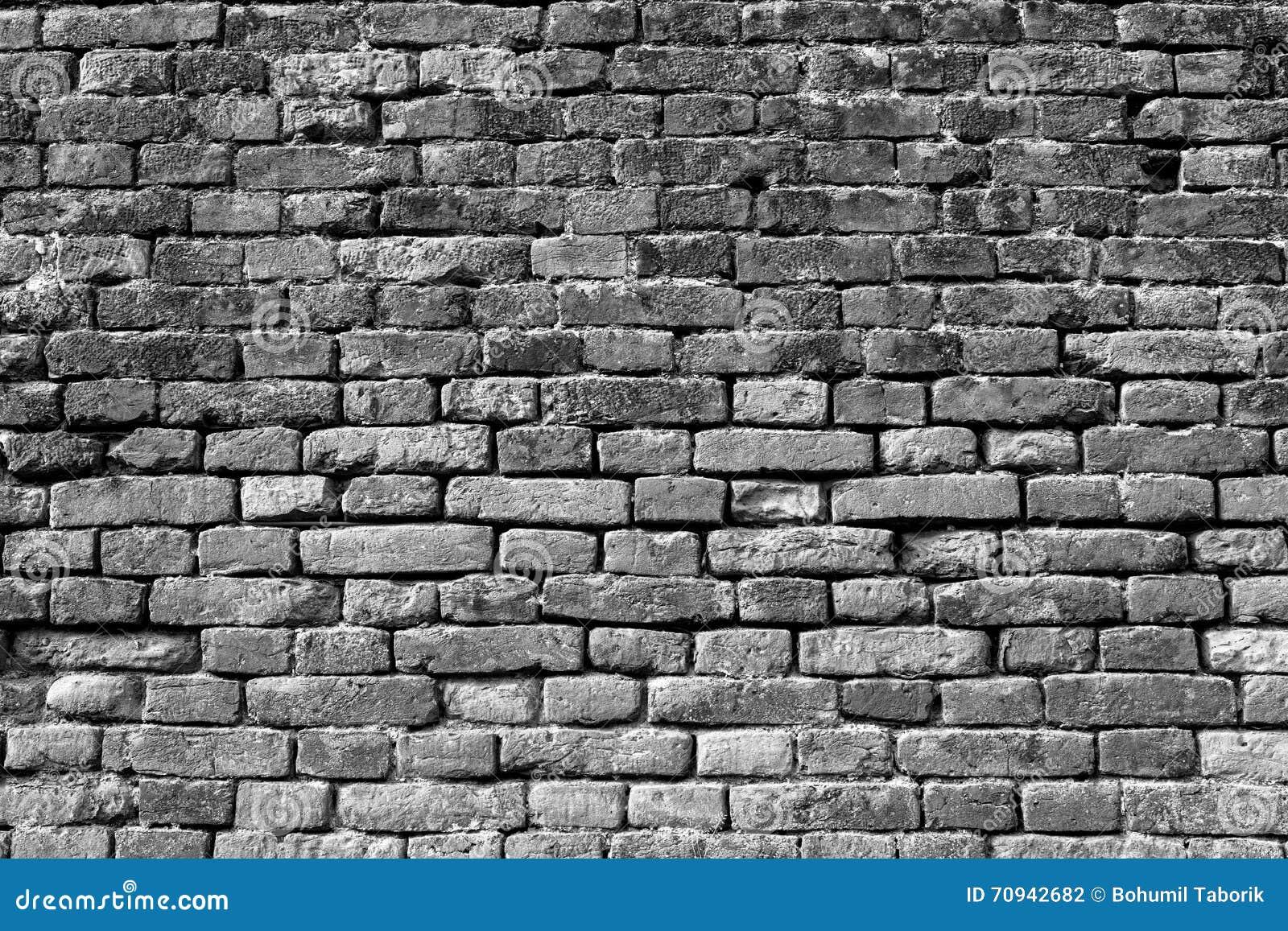 Pared de ladrillo blanco y negro para el fondo 8 foto de - Pared ladrillo blanco ...