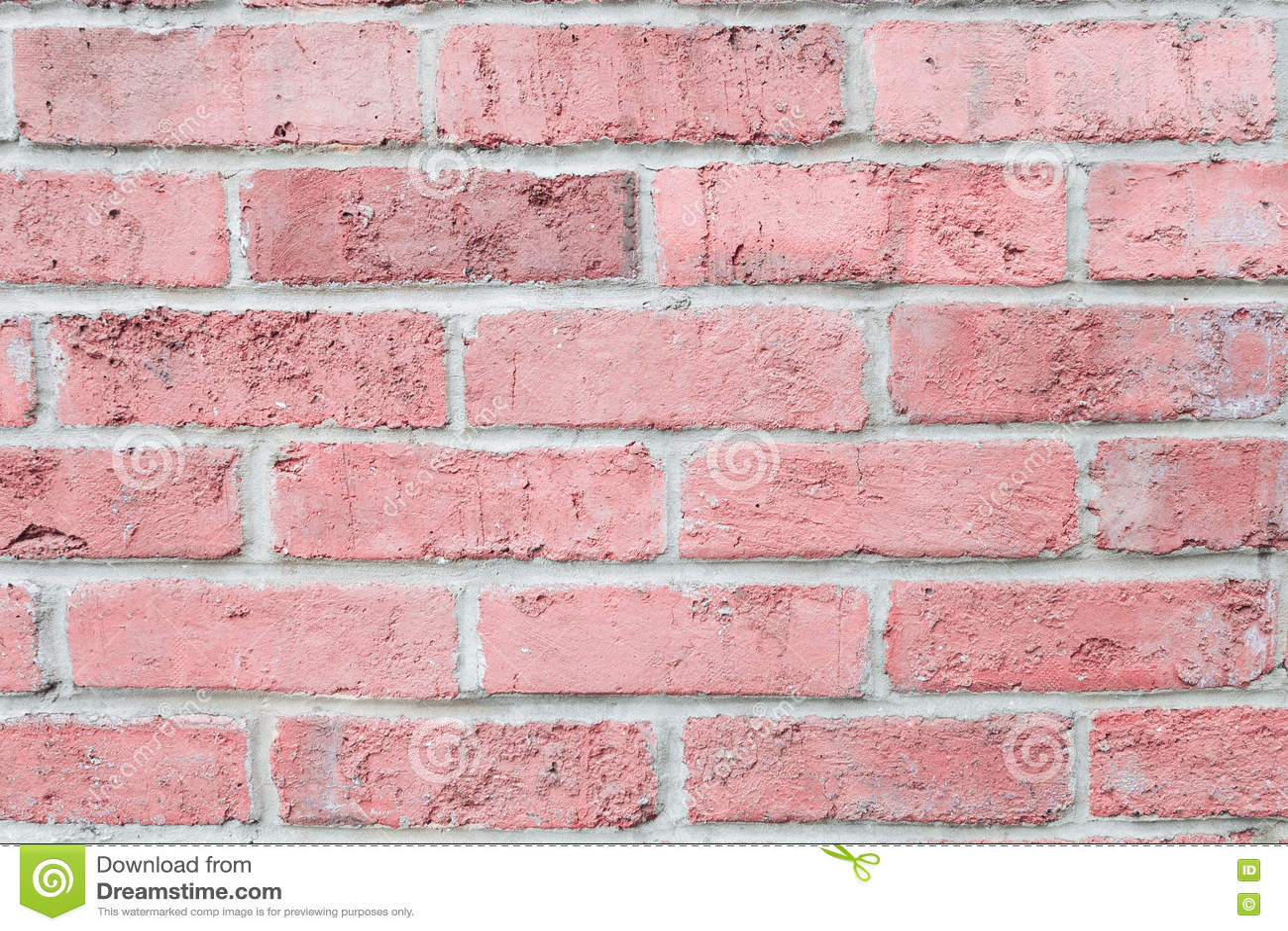 Pared de ladrillo del color del rosa en colores pastel del - Ladrillos de colores ...