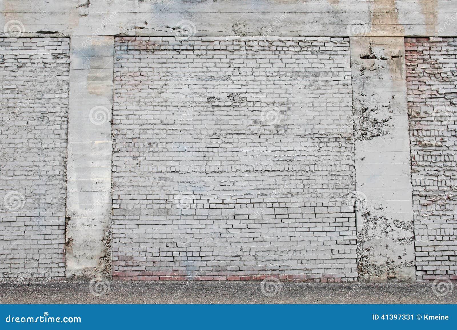 Pared de ladrillo pintada viejo blanco con el fondo del mortero imagen de archivo imagen 41397331 - Pared ladrillo blanco ...