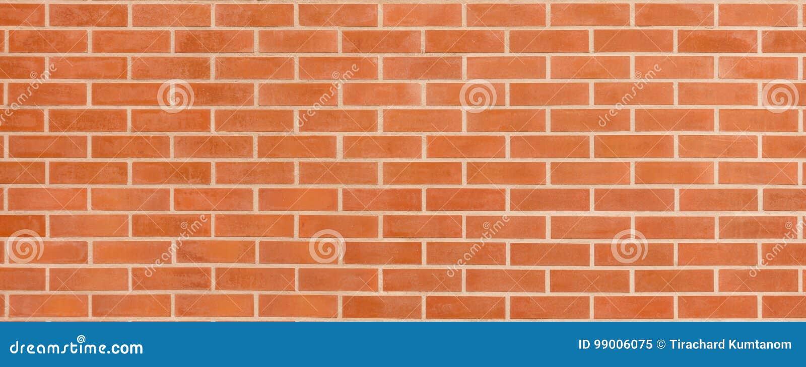 Pared de ladrillo rojo marrón del vintage con la estructura lamentable Fondo ancho horizontal del brickwall Textura sucia de la p