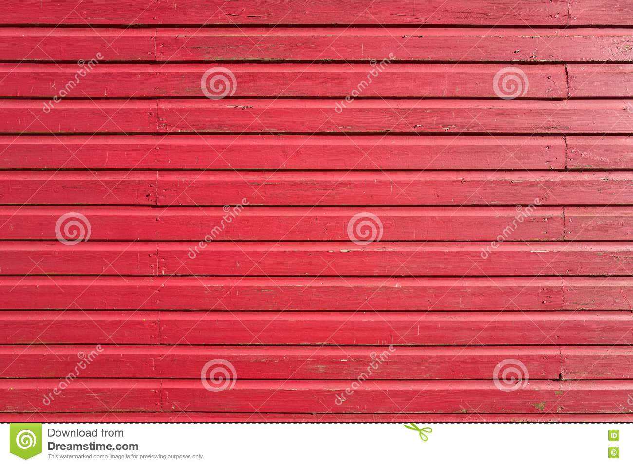 Pared de madera coloreada rojo