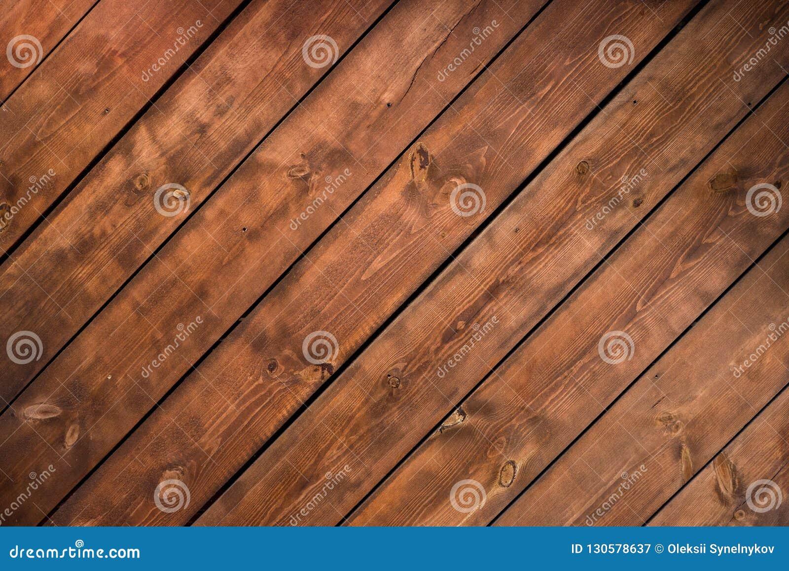 Pared de madera del fondo de la textura de encariñado rústico del blocao