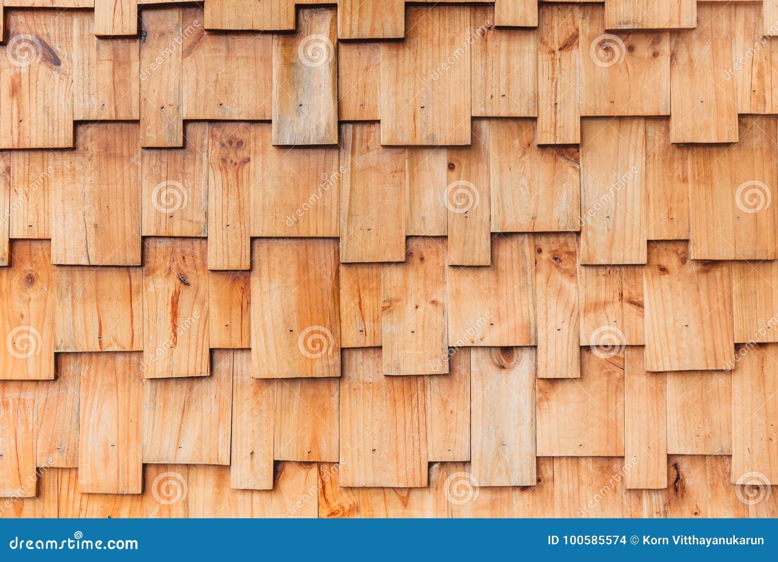 Pared de madera del modelo del estilo de los rompecabezas