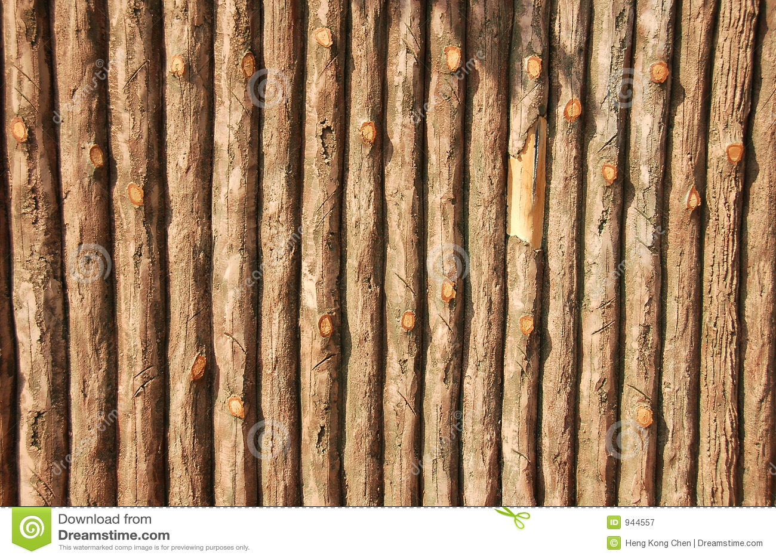Pared de madera falsa fotograf a de archivo libre de for Pared de ladrillos falsa