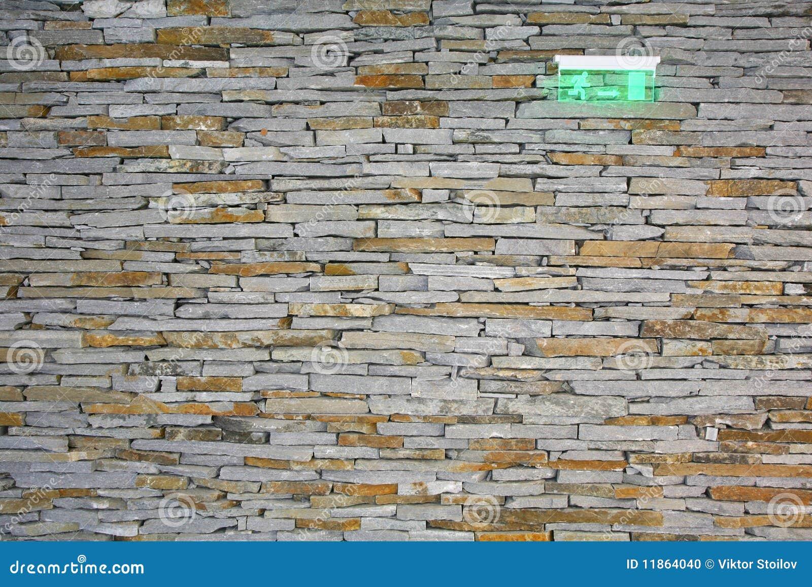 Pared de piedra decorativa foto de archivo imagen 11864040 - Piedra decorativa para paredes ...