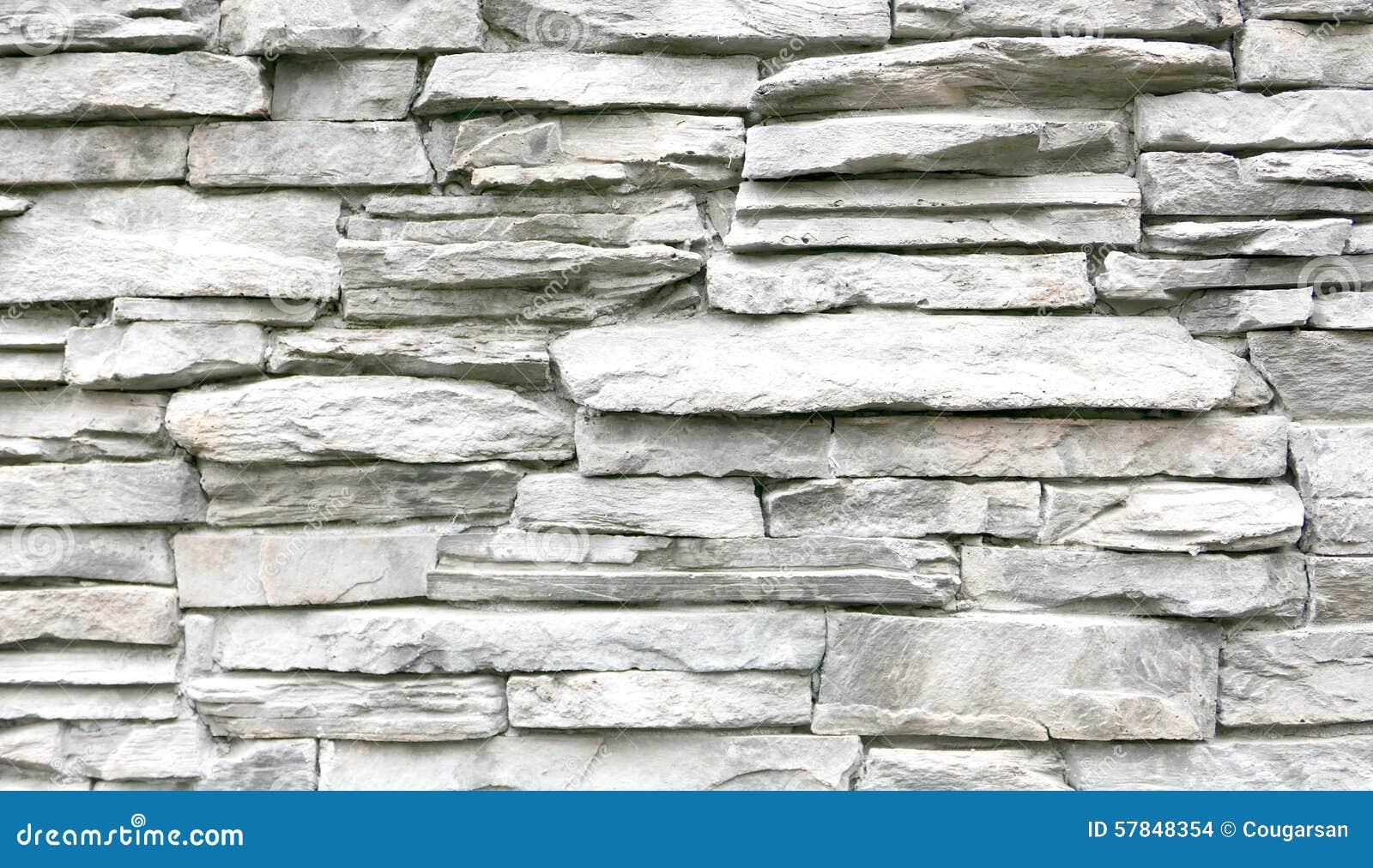Pared de piedra gris clara foto de archivo imagen 57848354 - Pared de piedra ...