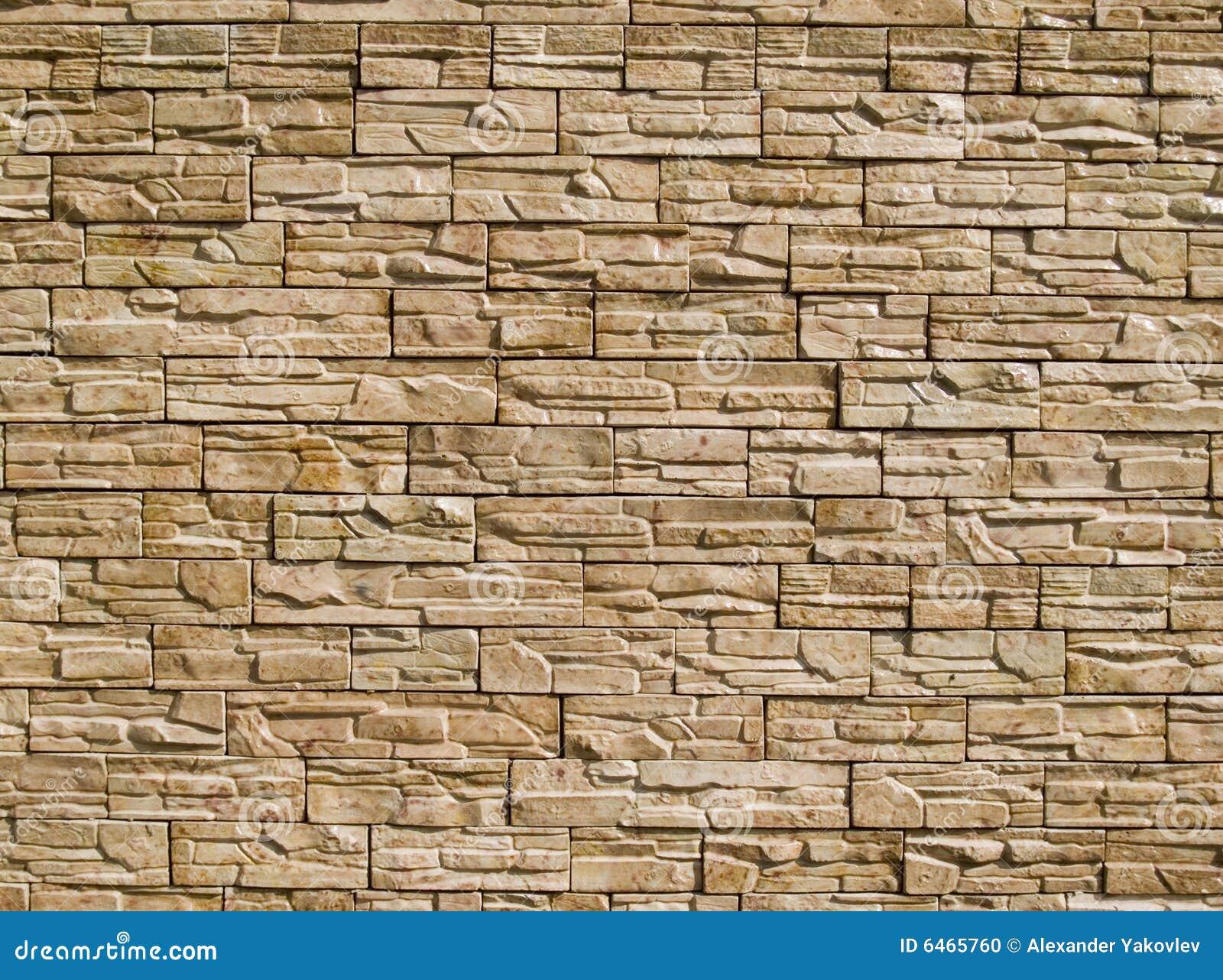 Pared de piedras decorativas foto de archivo imagen 6465760 - Piedras decorativas para pared ...