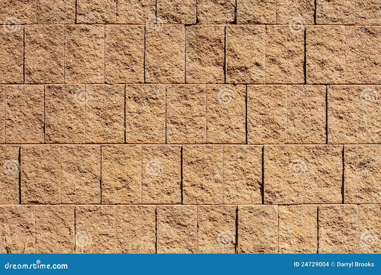 Pared del bloque de brown para los fondos o las texturas imagenes de archivo imagen 24729004 - Textura pared ...