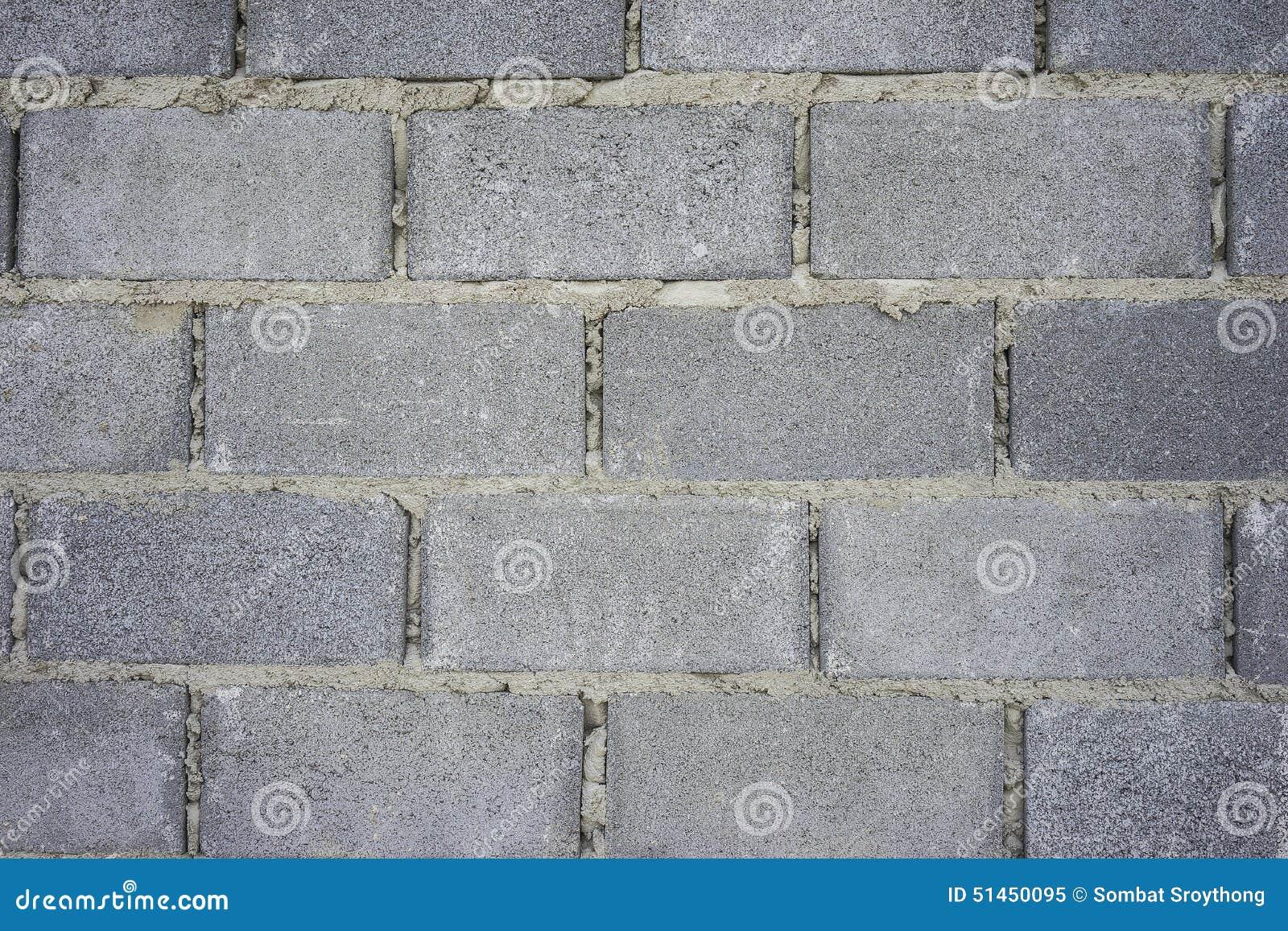 Pared del bloque de cemento foto de archivo imagen 51450095 - Paredes de cemento ...