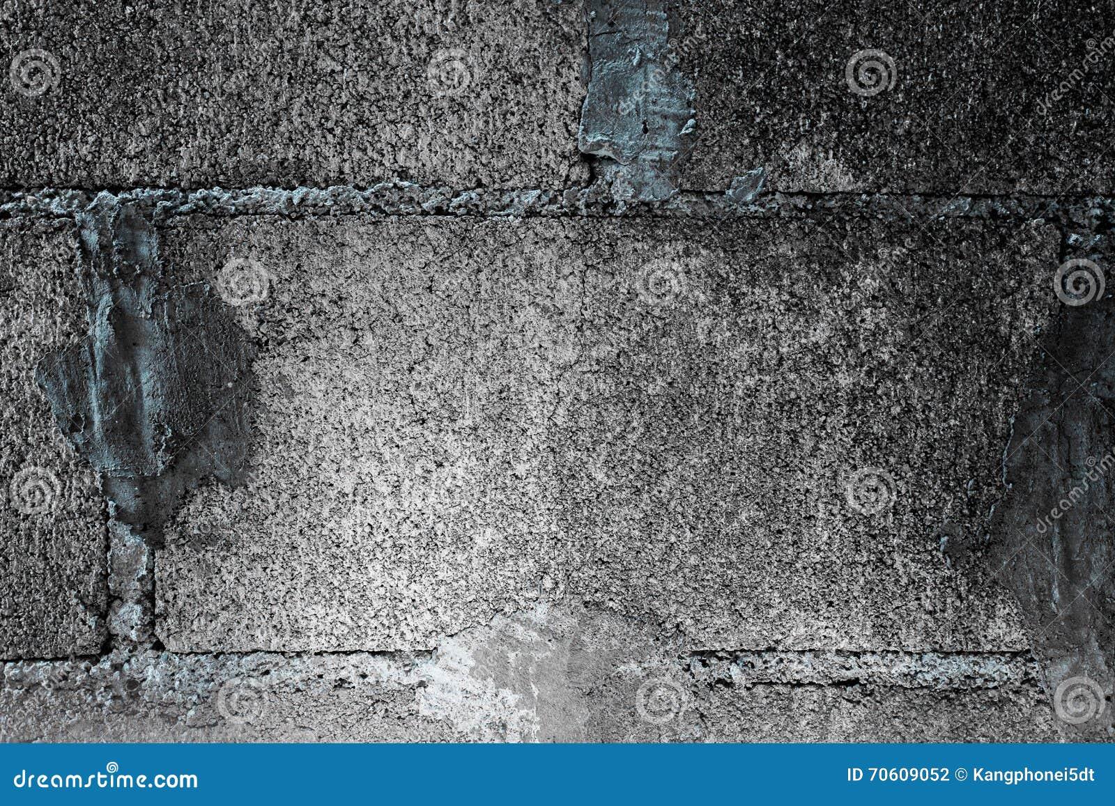 Pared del bloque fondo negro gris de la pared del bloque - Paredes de cemento ...
