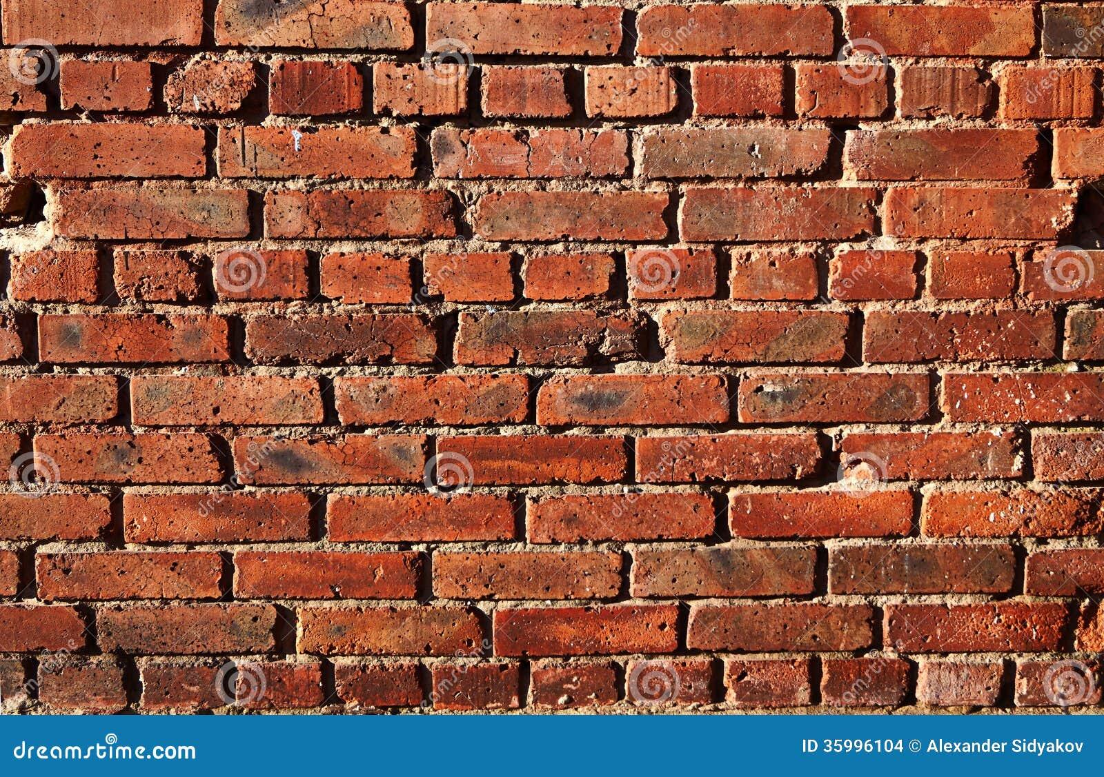 Pared del ladrillo rojo imagenes de archivo imagen - Ladrillos para pared ...
