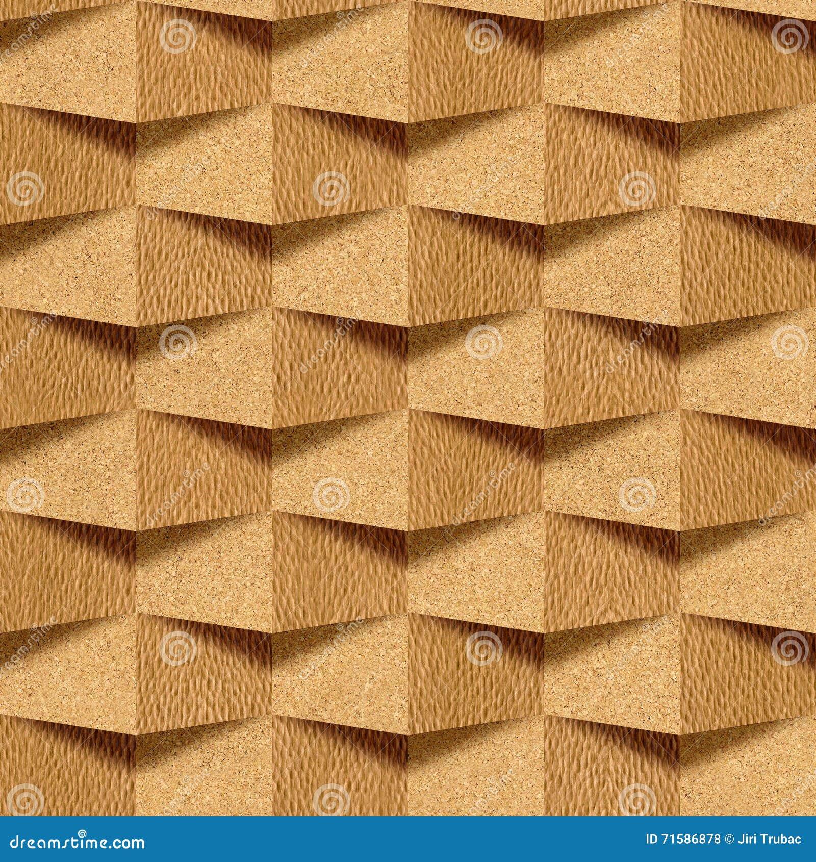 Pared del ladrillo textura decorativa del papel pintado for Papel de pared madera