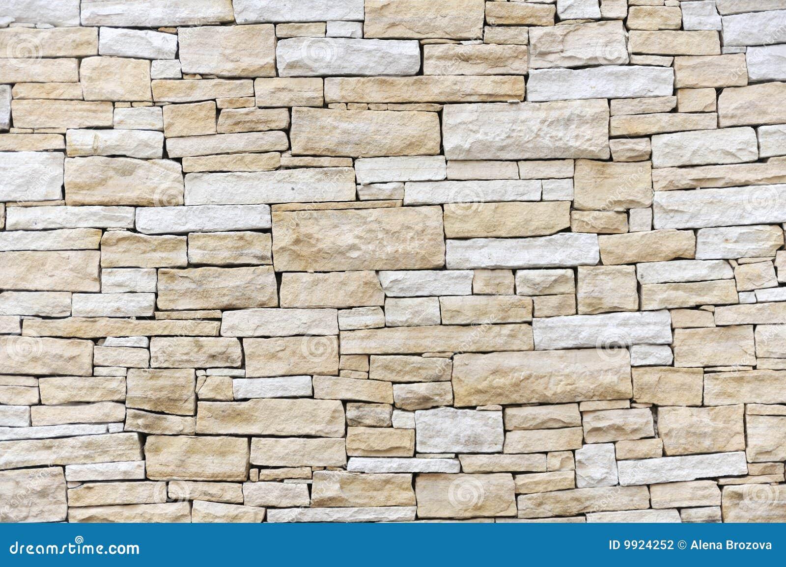 Pared hecha de ladrillos de la piedra arenisca fotograf a - Ladrillos de piedra ...
