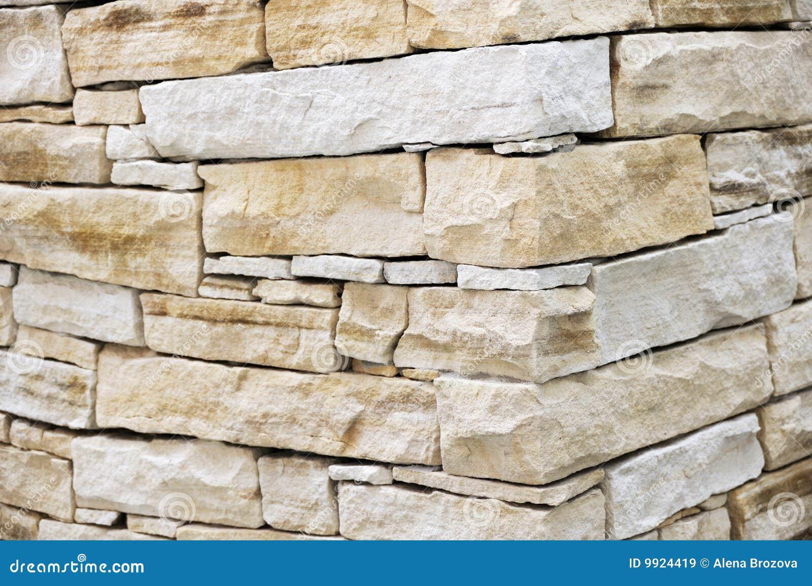 Pared hecha de ladrillos de la piedra arenisca im genes de - Ladrillos de piedra ...