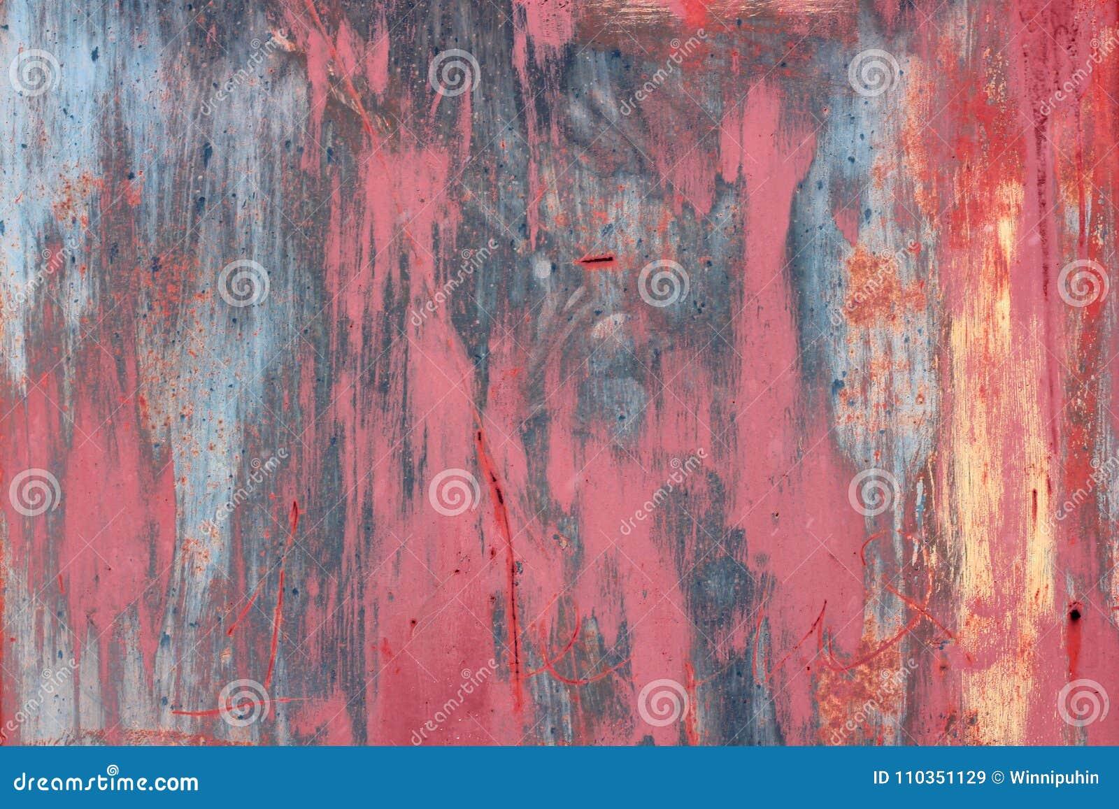 Pared multicolora del grunge, extracto texturizado altamente detallado del fondo Manchas, pintura de espray fondo alegre de la di