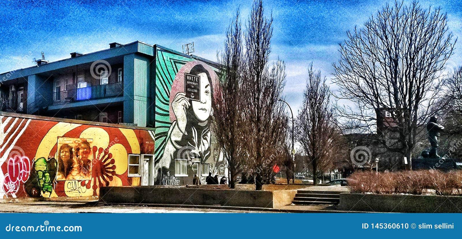 Parede da rua art