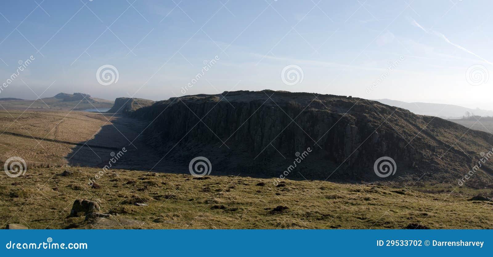 Parede de aço Northumberland de Hadrians do equipamento