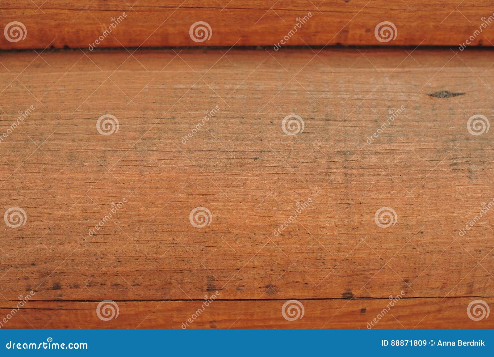 Parede de madeira dos registros
