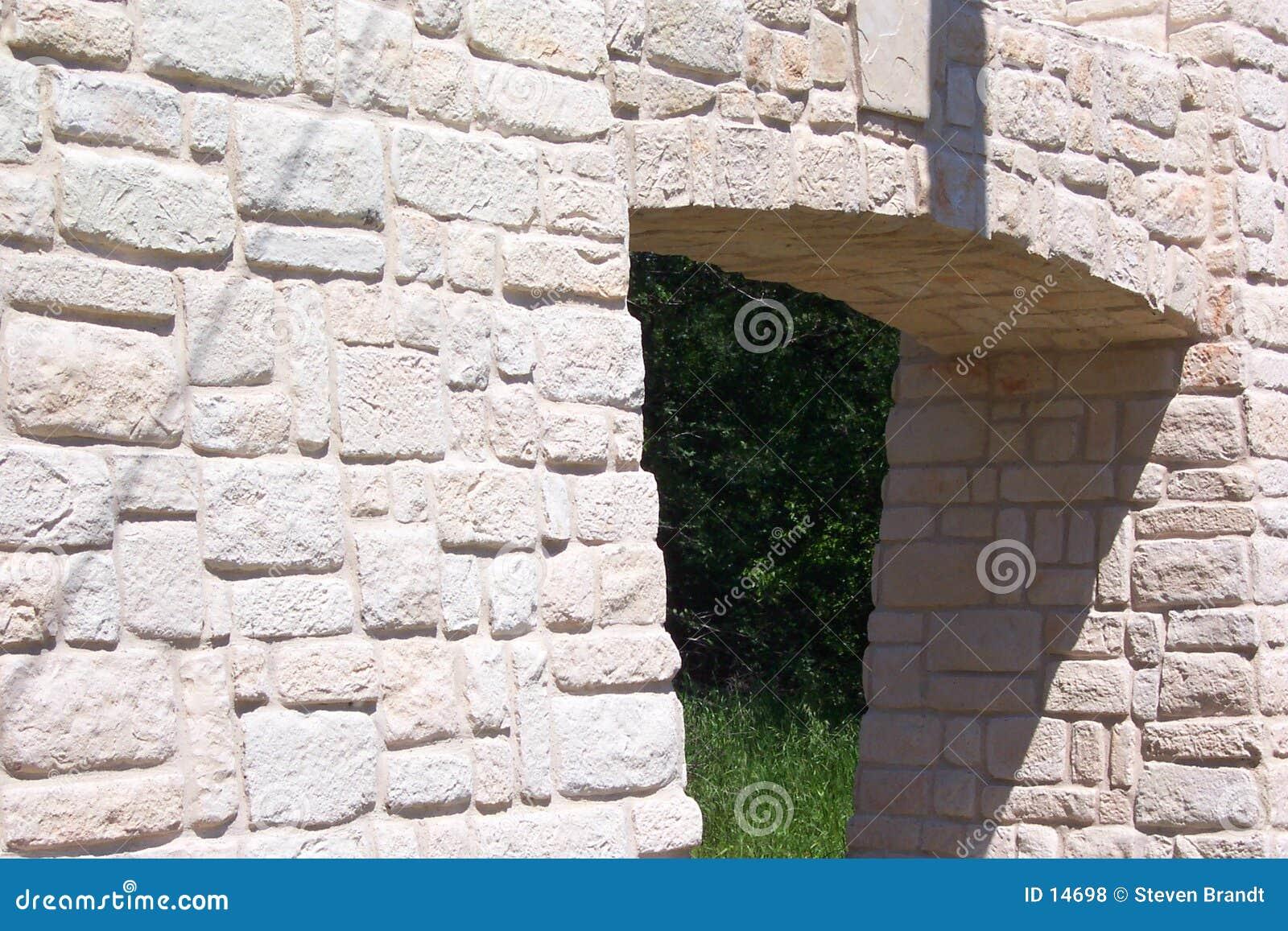 Parede de pedra