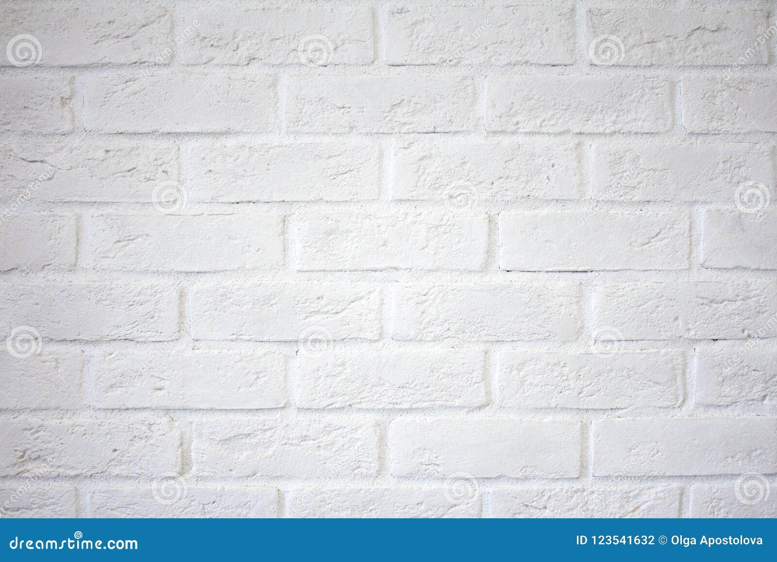 Parede de tijolo branca Parede de tijolo branca