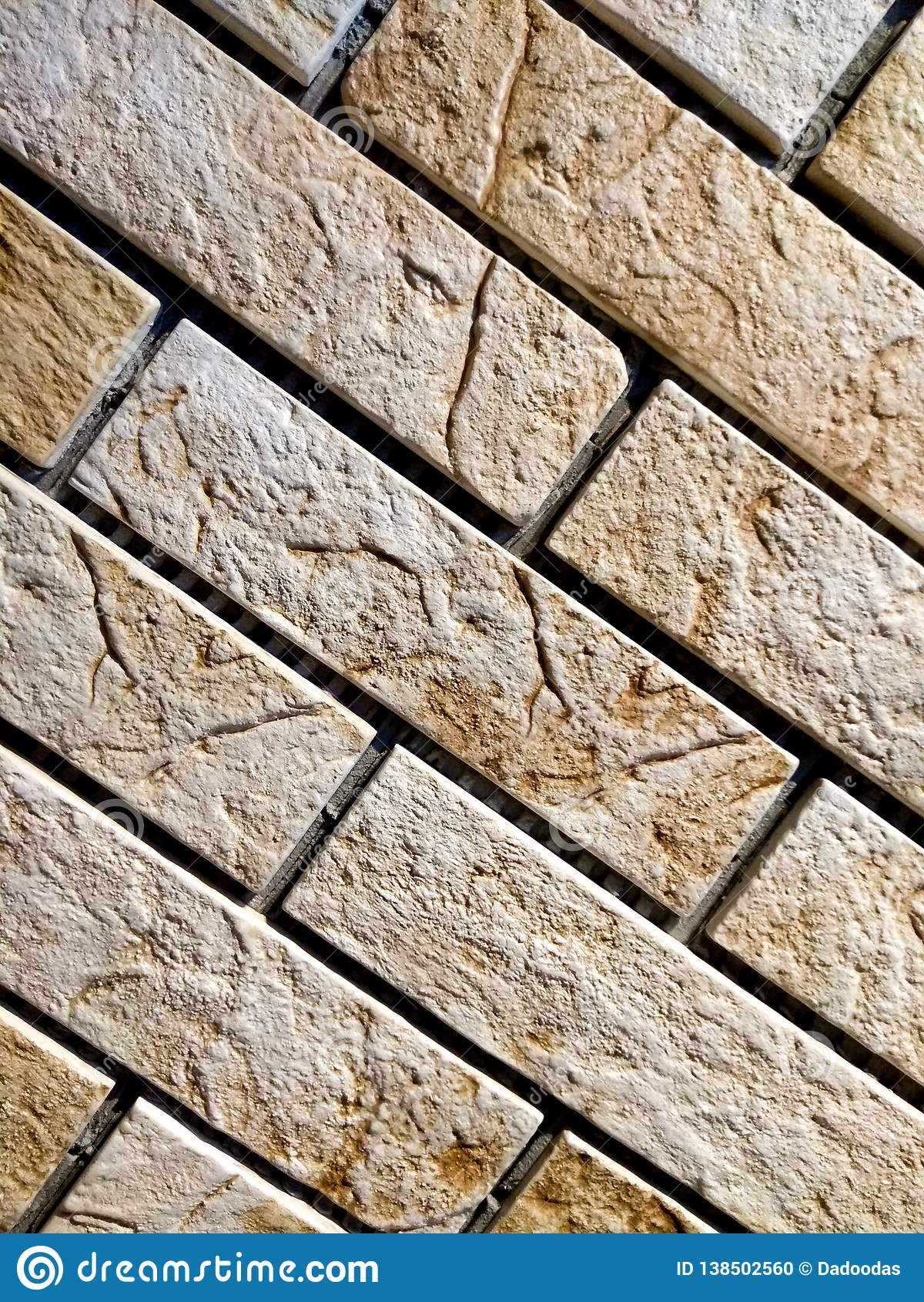 Parede de tijolo leve, fundo, clinquer