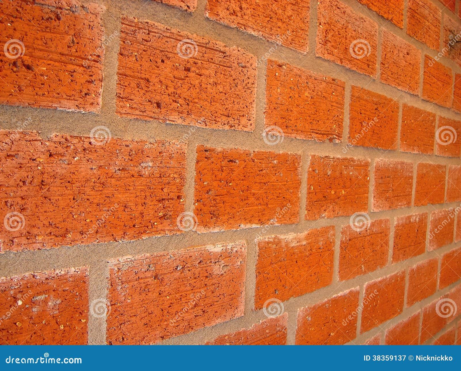 Parede de tijolo nova