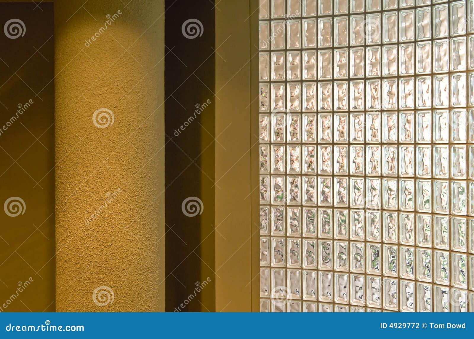Imagens de #64480B Parede Do Bloco De Vidro Fotografia de Stock Imagem: 4929772 1300x946 px 3344 Bloco De Vidro No Banheiro