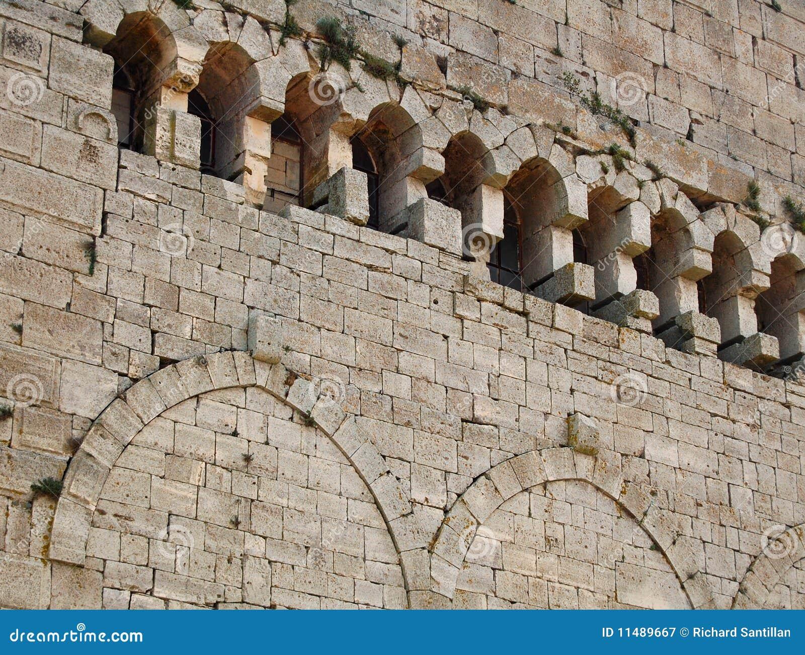 Parede do castelo