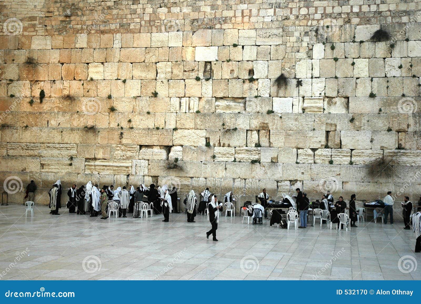 A parede ocidental