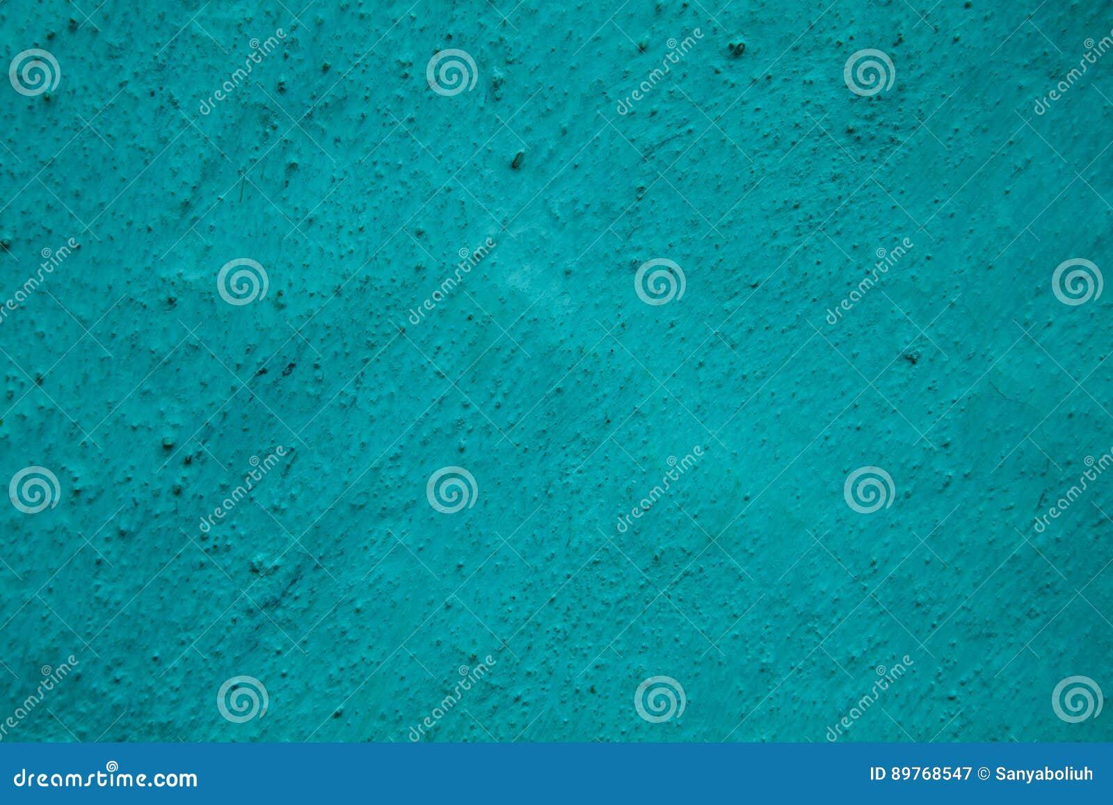 Parede textured grunge pontilhada turquesa