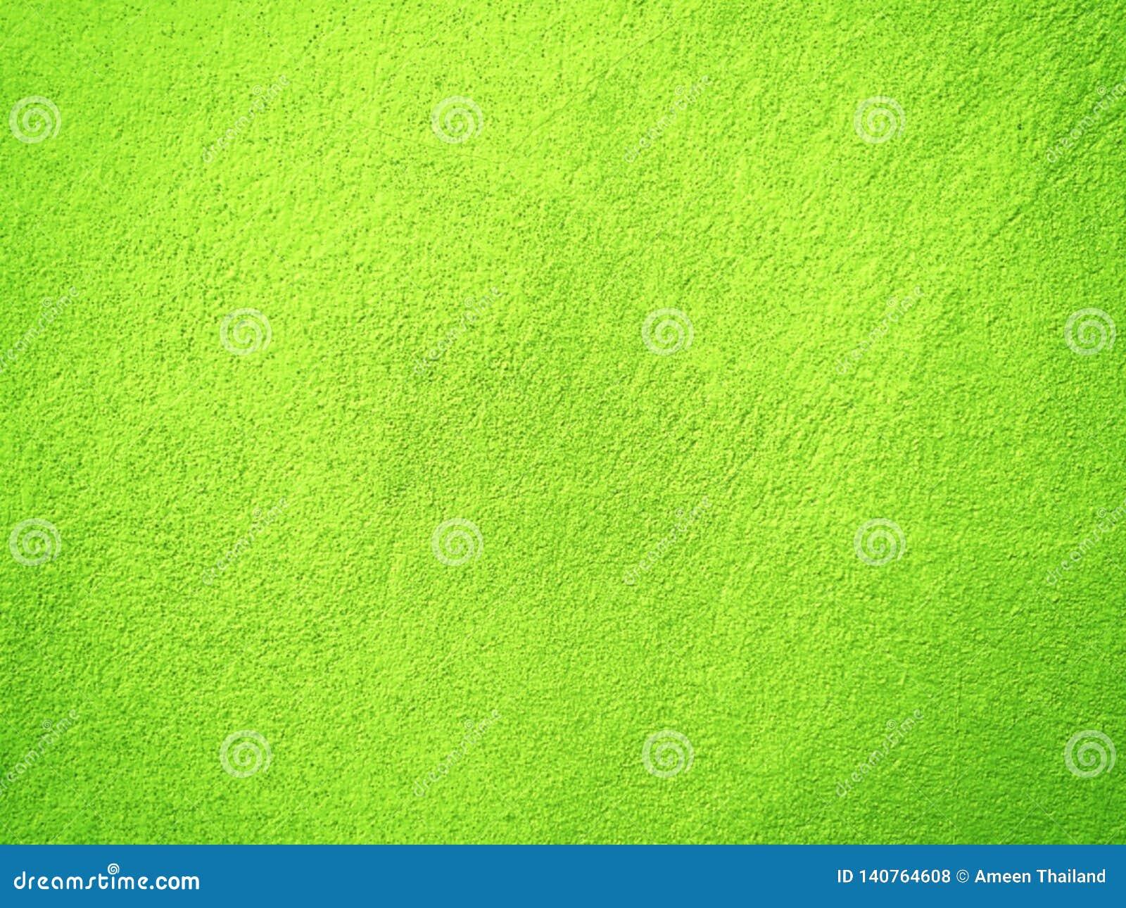 Parede verde do cimento