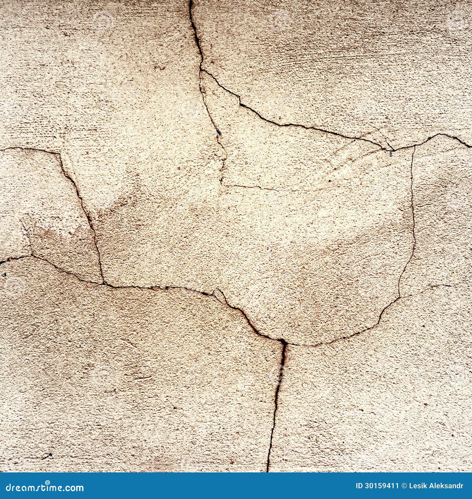 Paredes agrietadas viejas del fondo del edificio imagen de - Restaurar paredes viejas ...