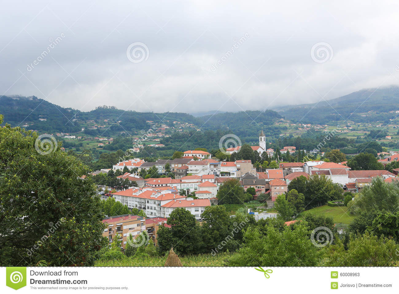 Paredes De Coura In Norte Region Portugal Stock Image Image Of