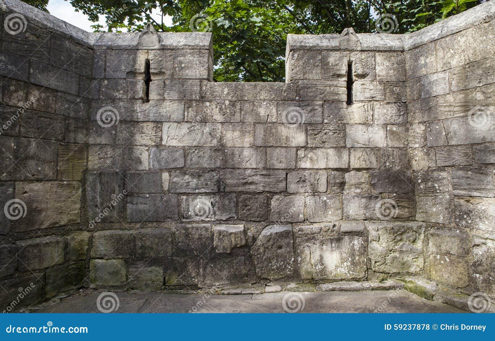Download Paredes De La Ciudad De York Foto de archivo - Imagen de defending, antiguo: 59237878