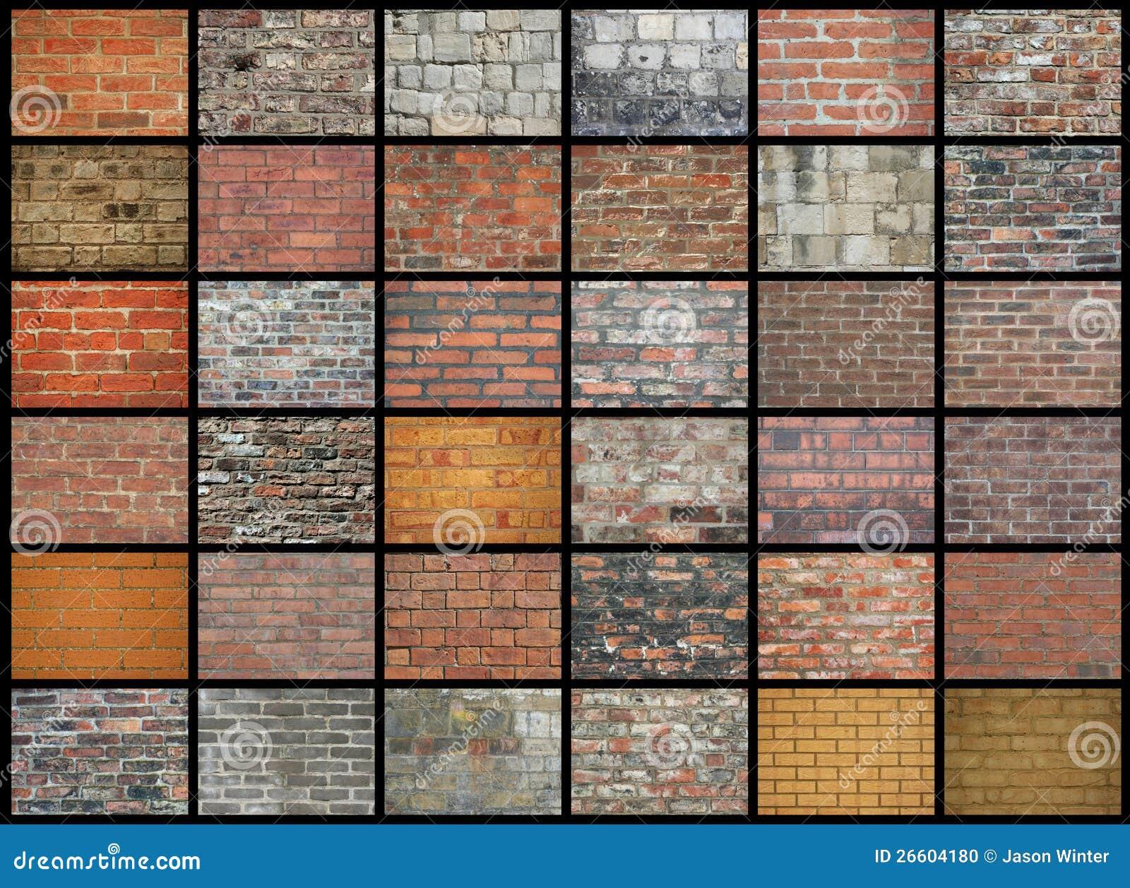Paredes de ladrillo foto de archivo imagen de casa - Ladrillos para pared ...