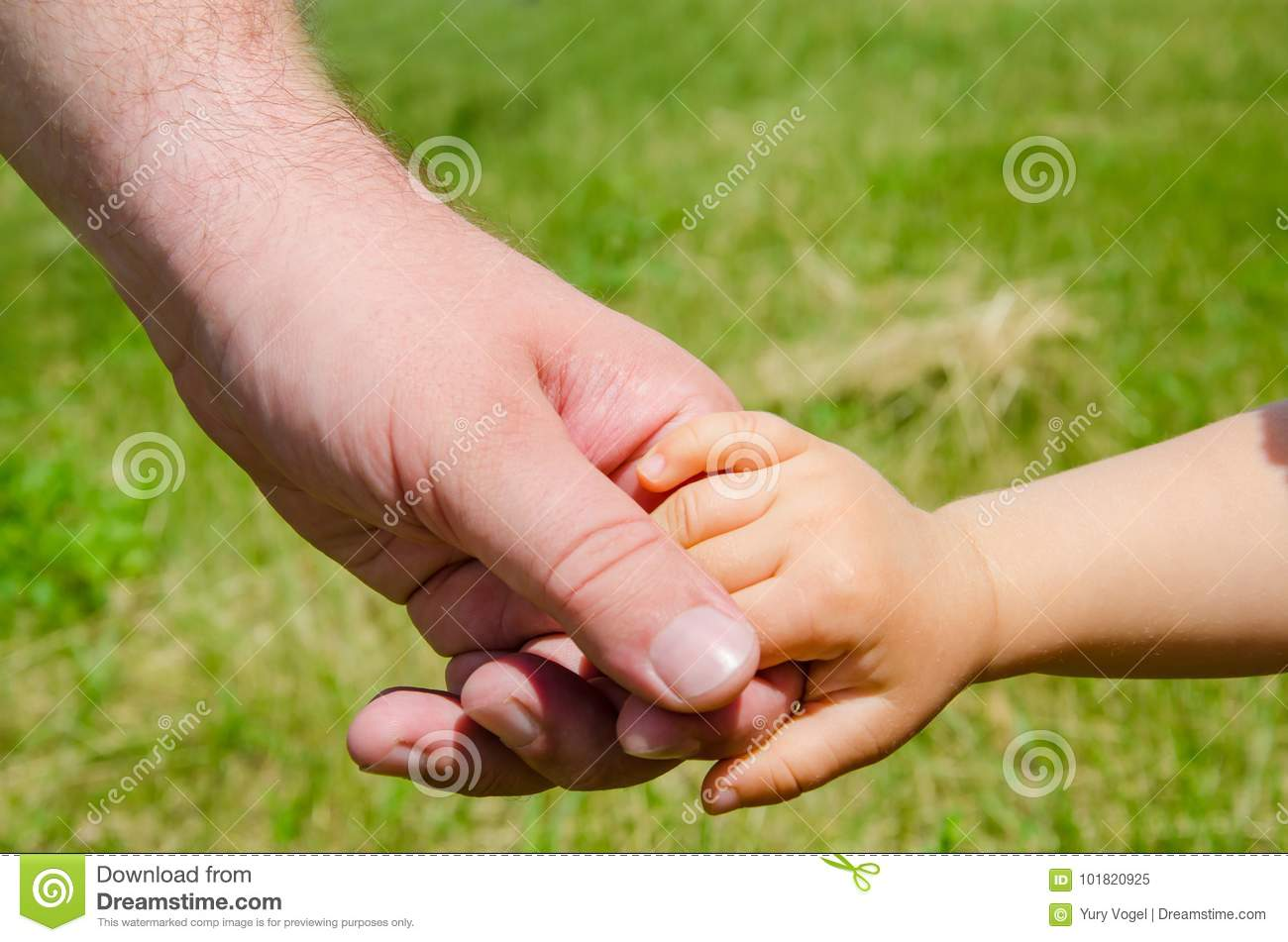 What does the childs hand dream about