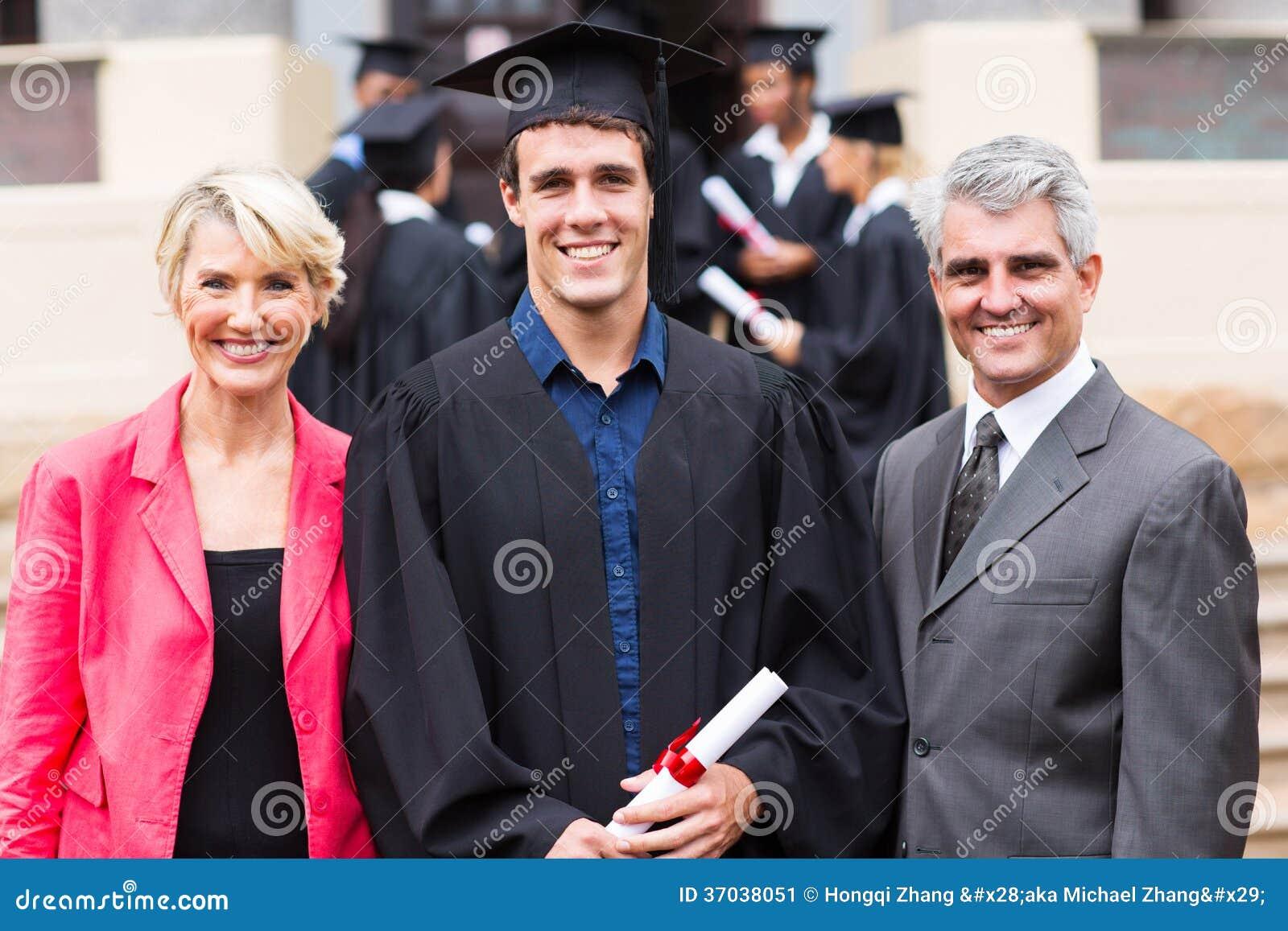 Parents de diplômé d université