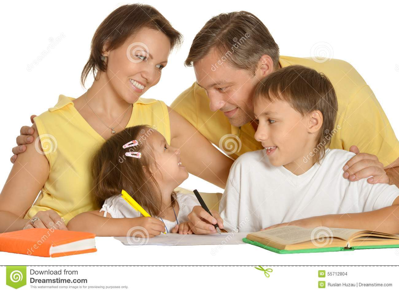 Do parents help with homework
