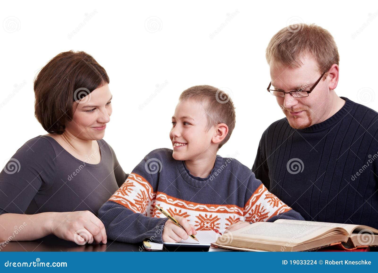 Web homework alert to parents