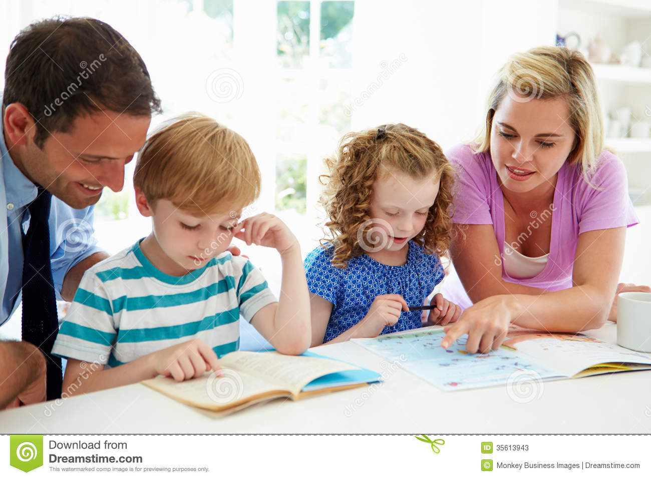 teaching parents to help with homework
