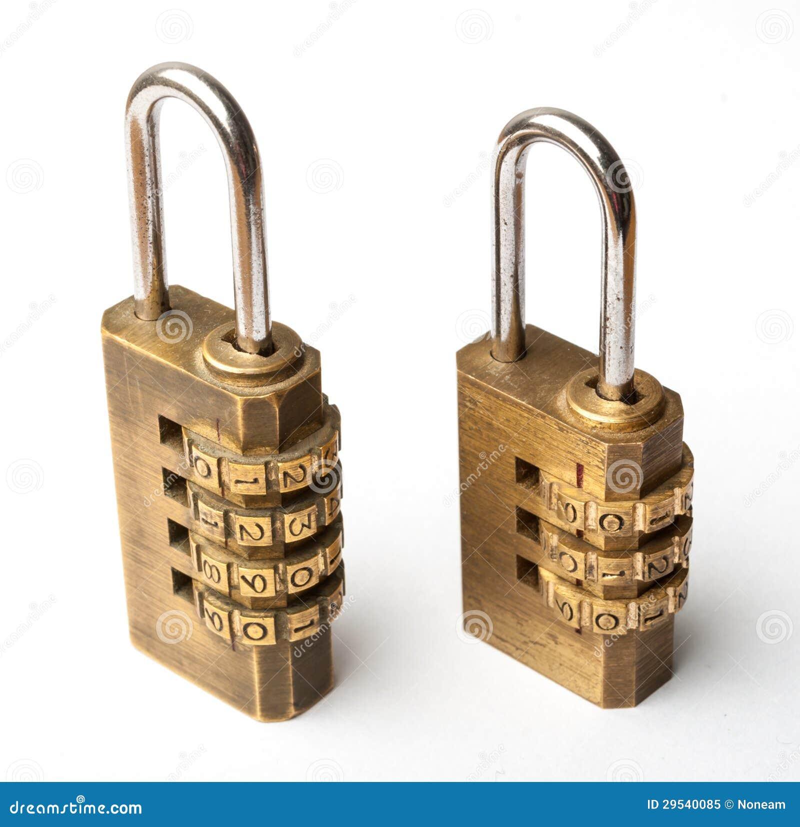 Pares da chave mestra do código dourado